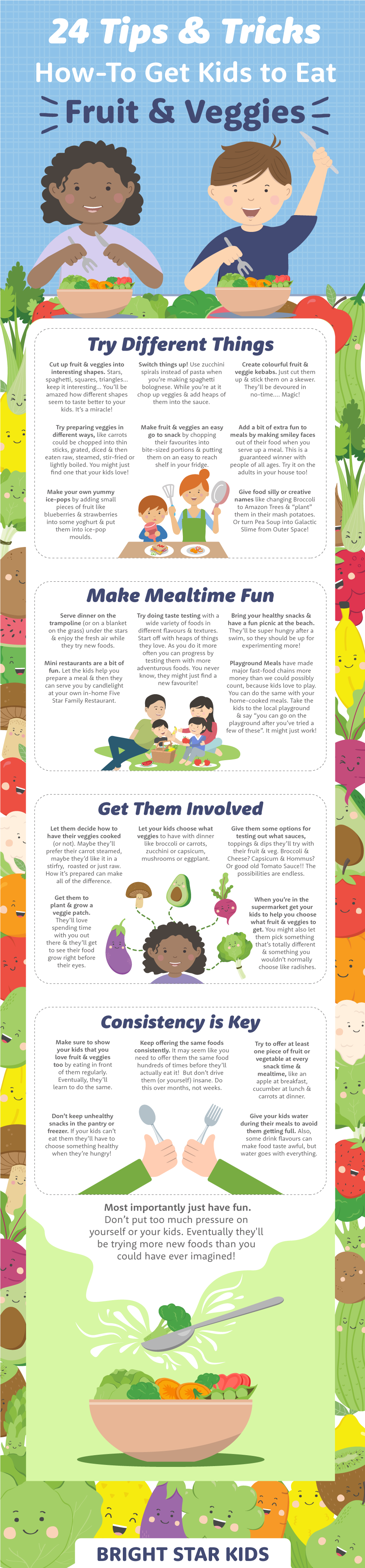 How To Get Your Kids To Eat Vegetables
