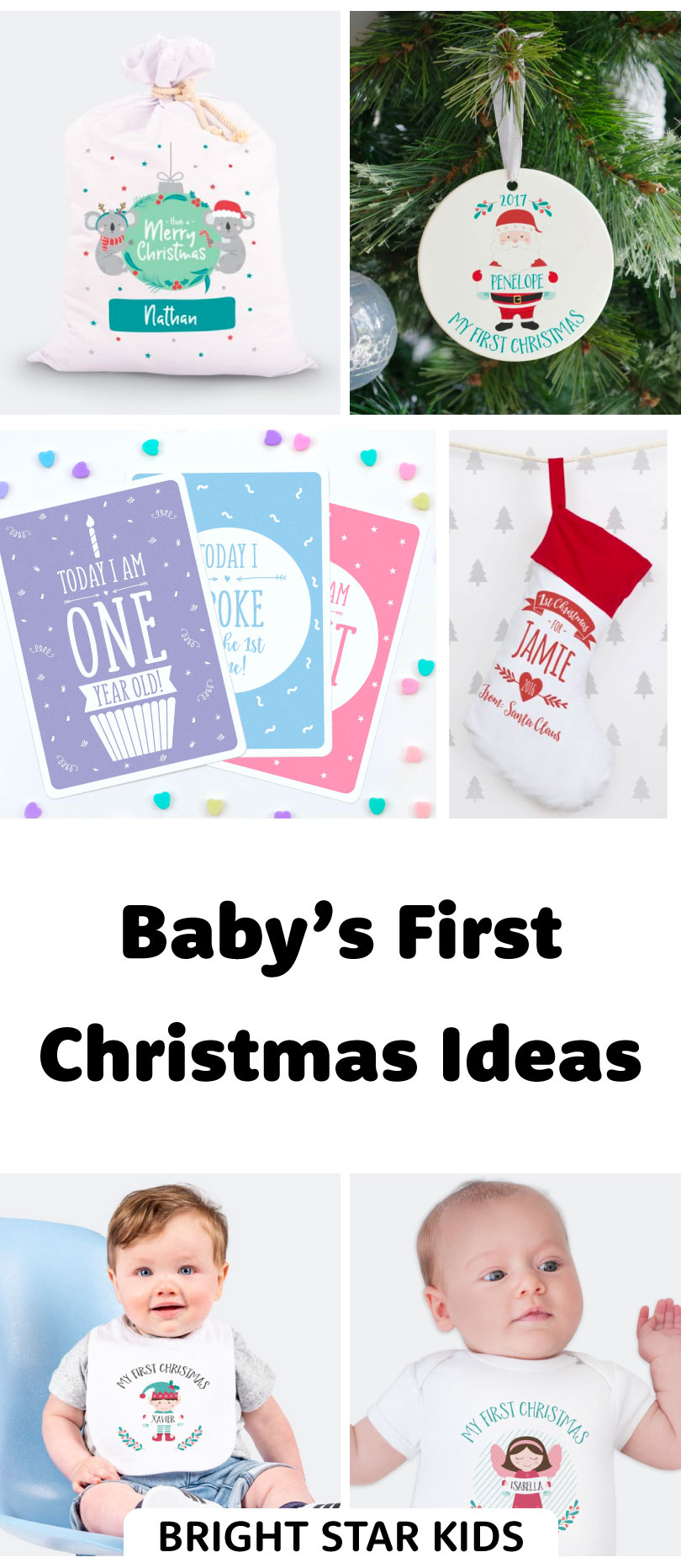 Baby S First Christmas Gift Ideas Bright Star Kids