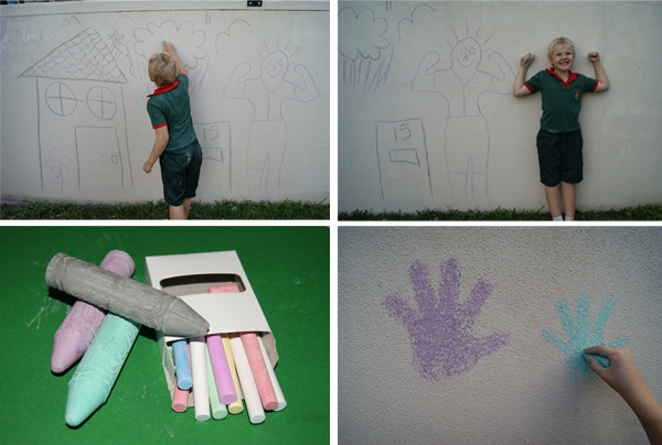Draw on the Walls with Chalk
