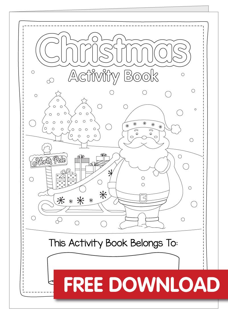 Free Christmas Activity Book Printable