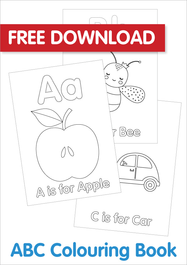 - Free Colouring Pages For Kids- ABCs - Bright Star Kids- Download & Print