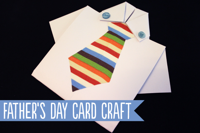Father's Day Card Craft