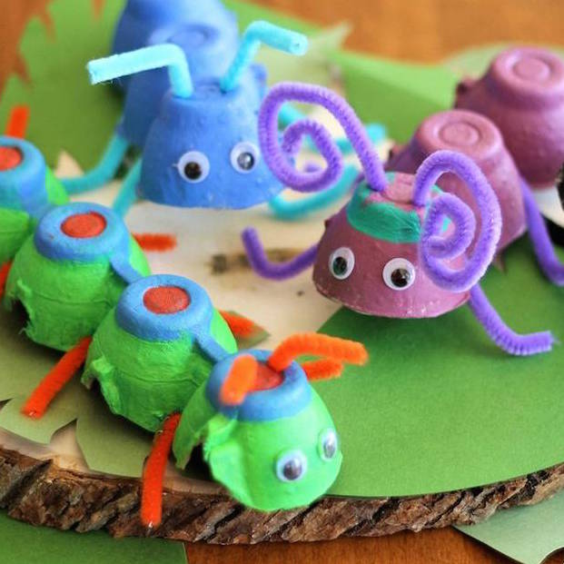 10 Easy Cardboard Crafts for Kids