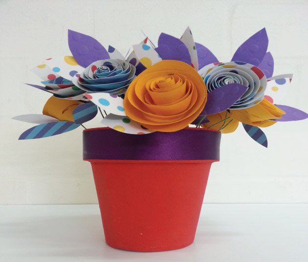 Paper flower art bright star kids flower art 5 mightylinksfo