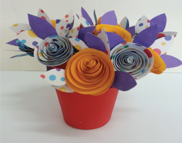 Paper flower art bright star kids paper flower art mightylinksfo