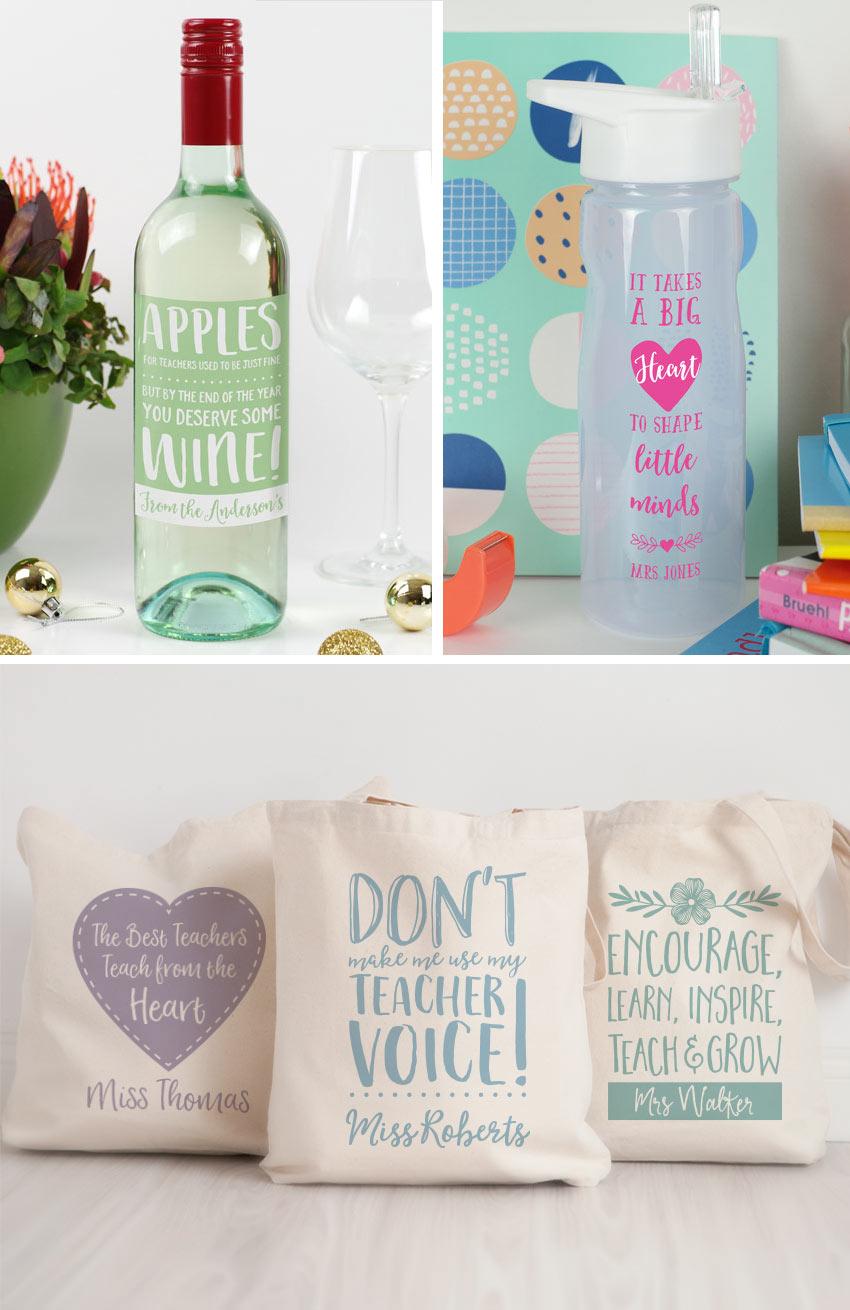 10 Personalised Teacher Gift Ideas