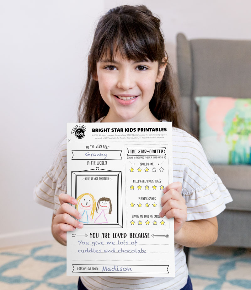 Mother's Day Printable: Mother's Day Activity Sheet