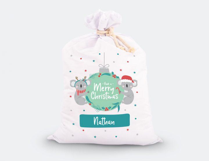 Baby's First Christmas Santa Sack