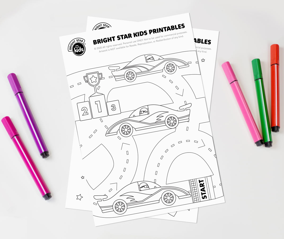 Cars Colouring in Printable
