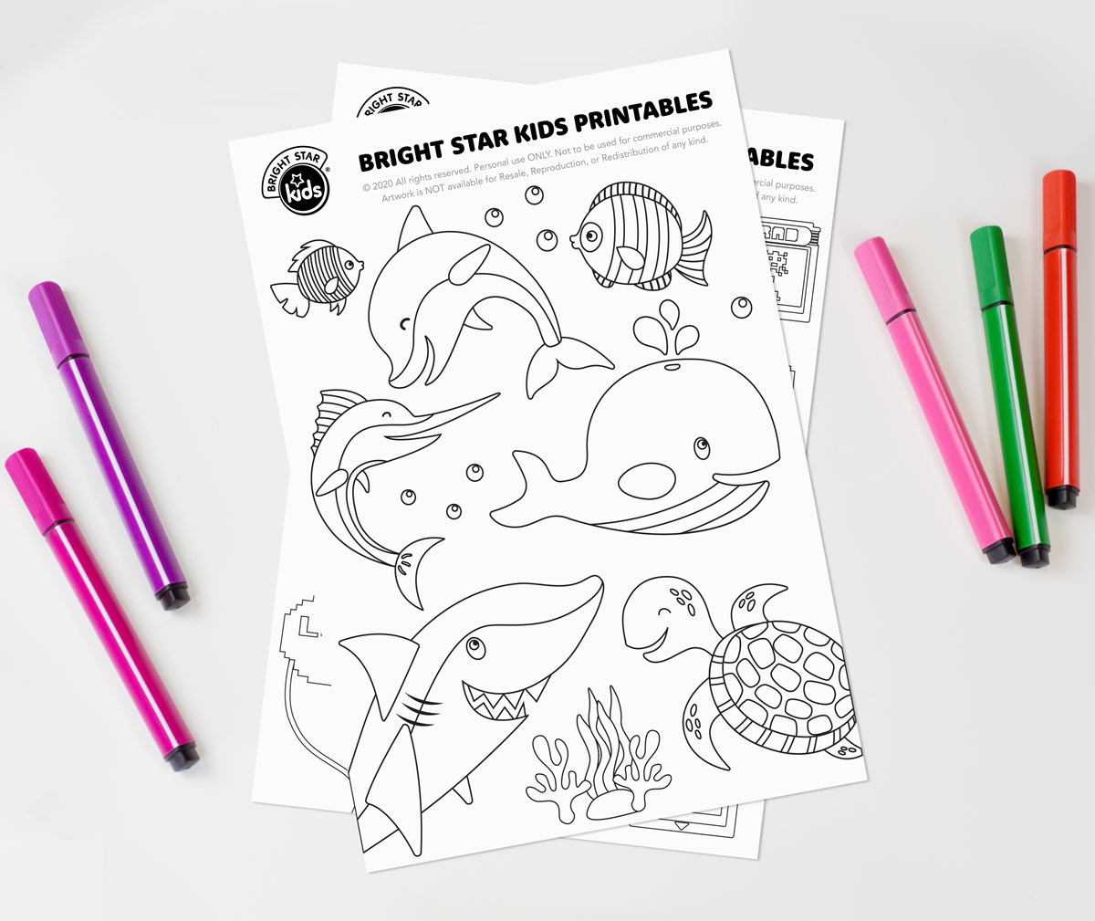 animal colouring in for kids
