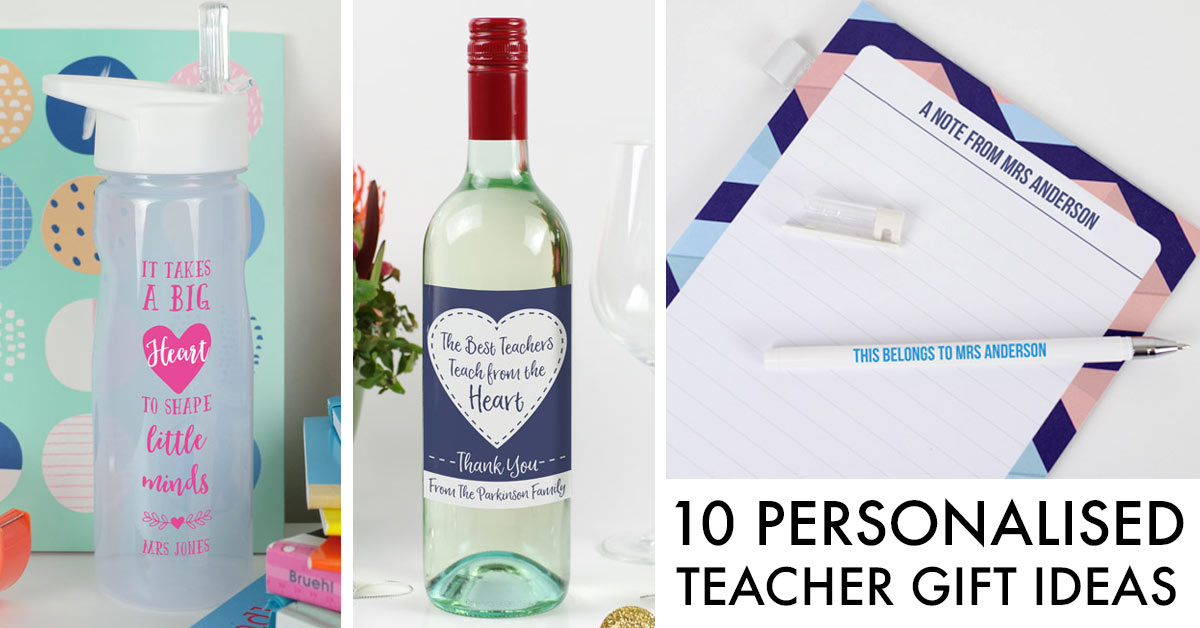 10 personalised teacher gift ideas bright star kids