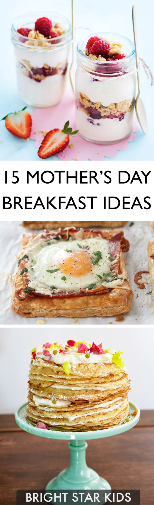 Mother's Day Breakfast or Brunch Ideas