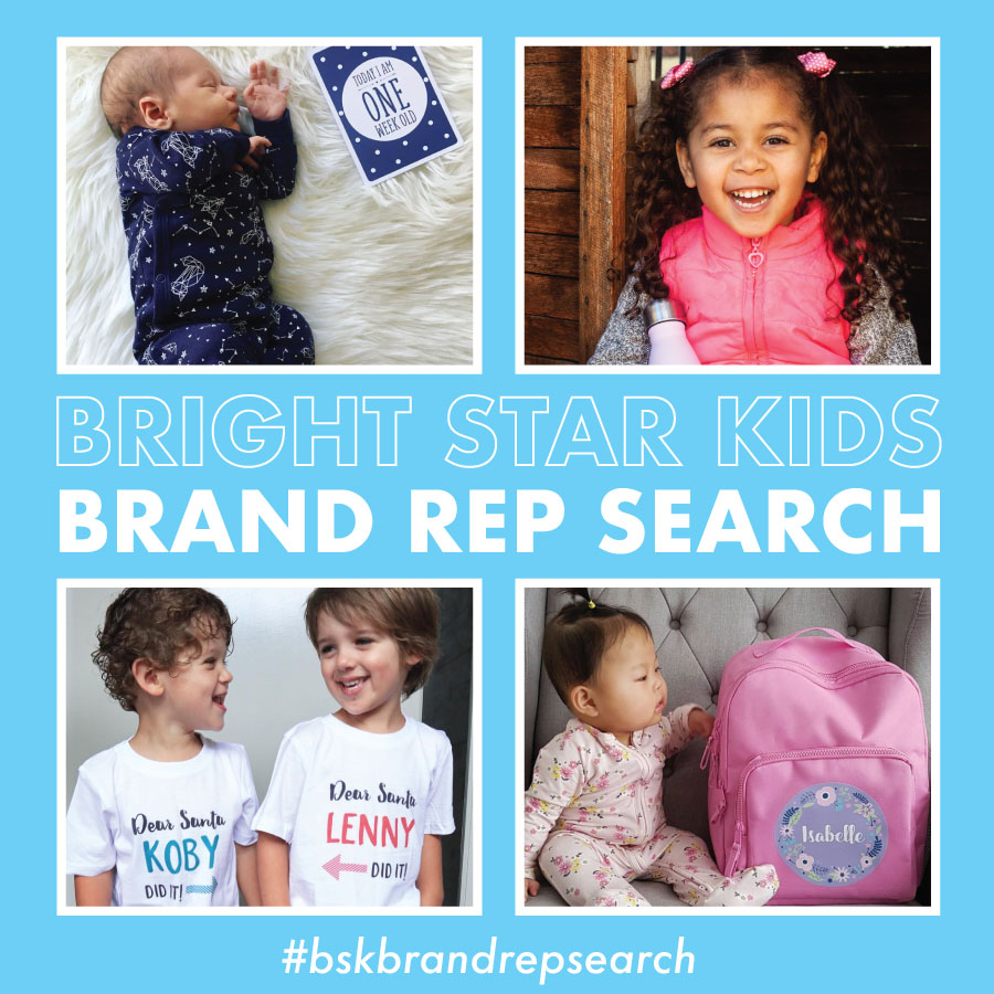 Bright Star Kids are searching for Brand Reps!