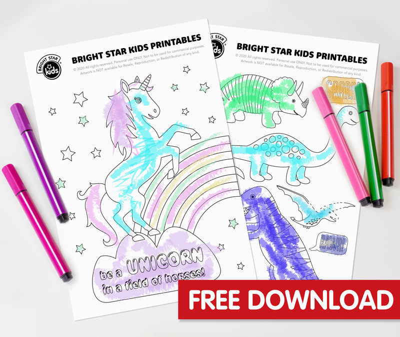 Printable Colouring Pages For Kids