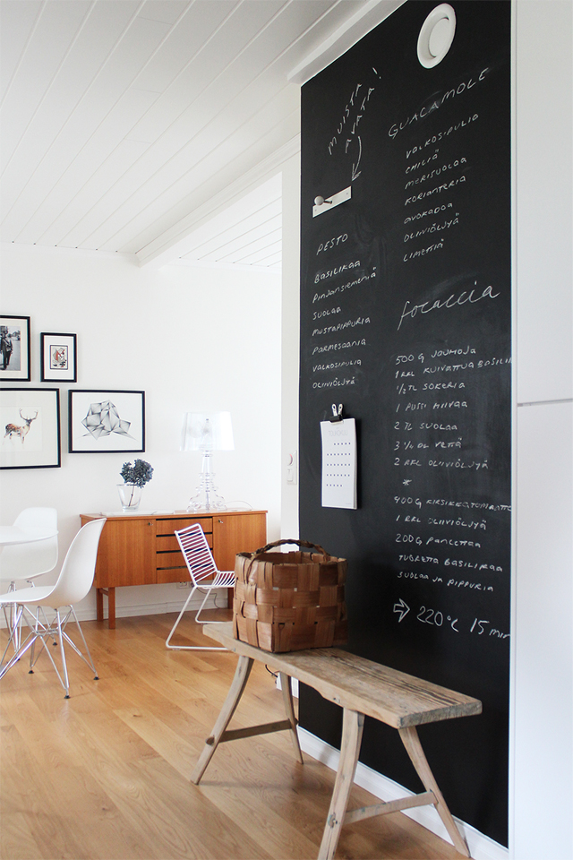 15 Chalkboard Ideas for Around Your Home