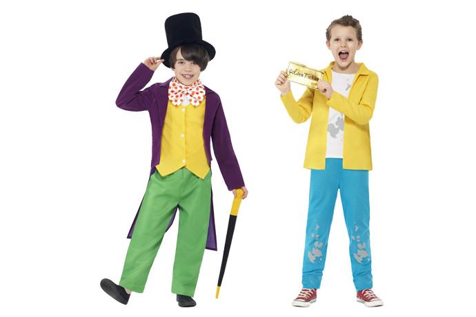 book week and halloween costumes