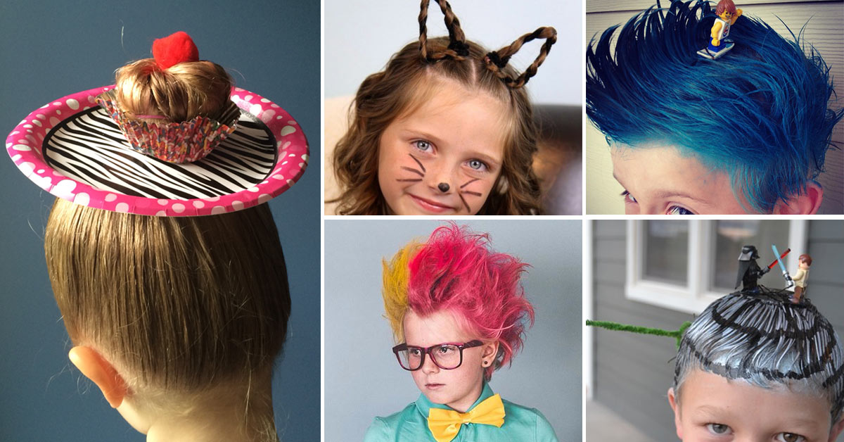 silly hair styles 18 hair day ideas for amp boys bright 5197