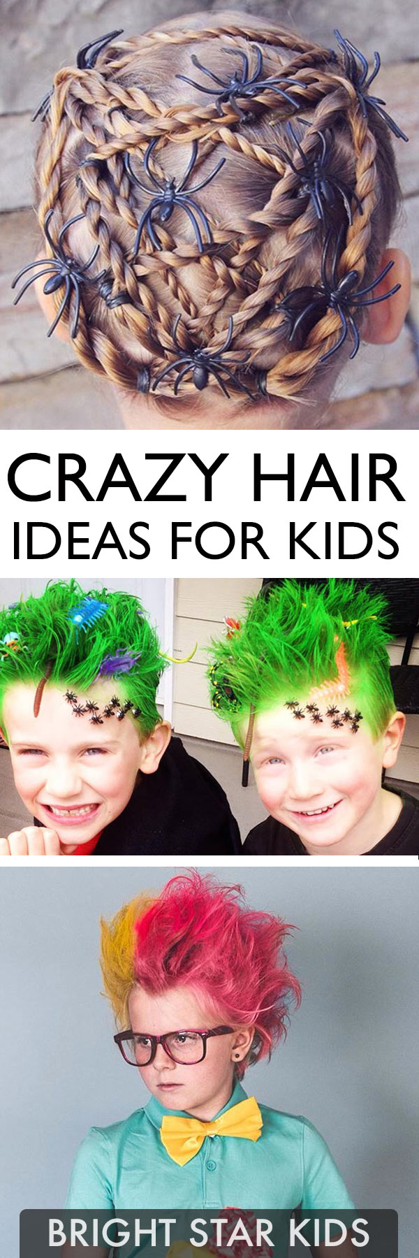 Crazy Hair Day Art Project