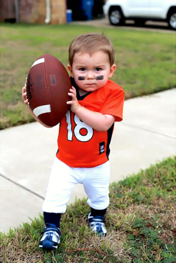 Apologise, Football baby costume