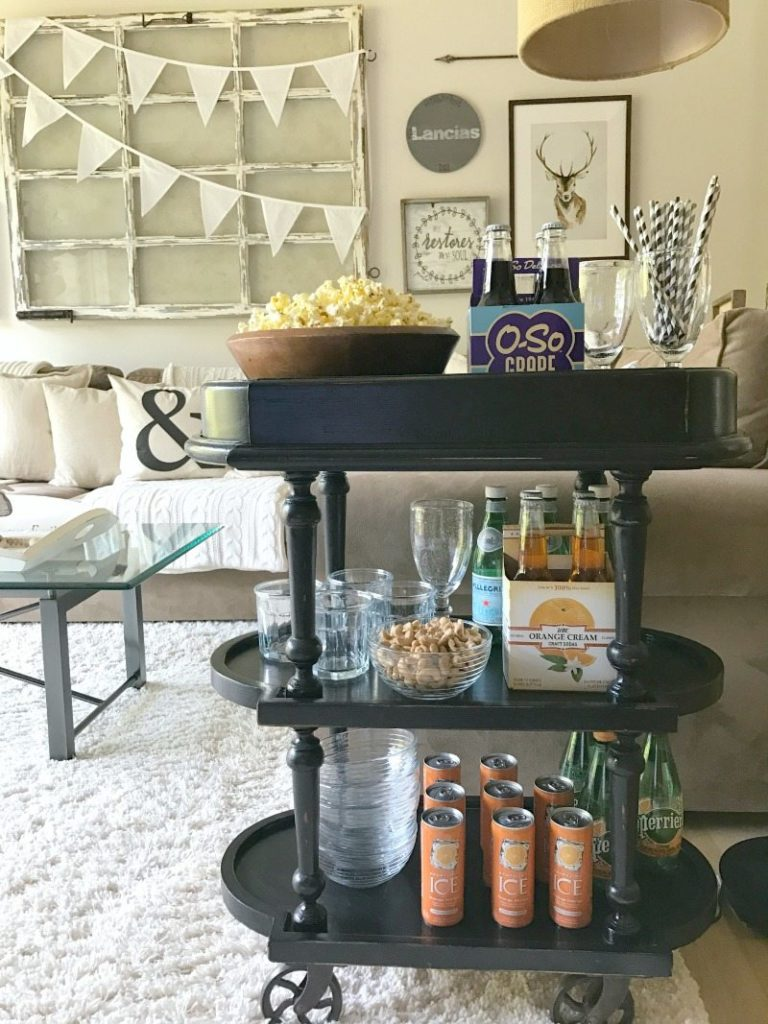 Bar Cart Styling: 10 Father's Day DIY Bar Cart Ideas for Dad