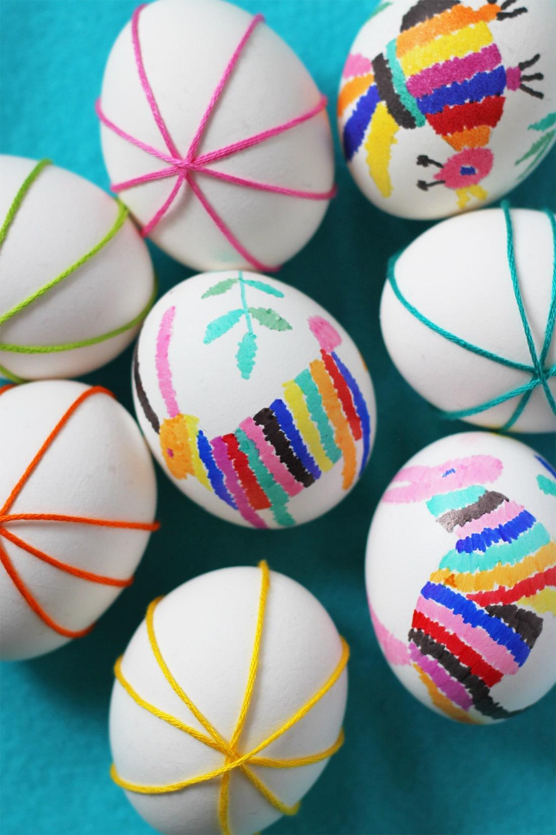 Easter Eggs: 10 DIY Easter Craft Ideas for Kids