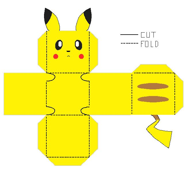 image regarding Printable Pokemon identified as 14 Pokemon Craft Enjoyment Routines - Vibrant Star Young children