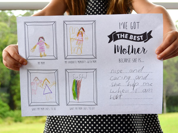 Free Mother's Day Printables for Champagne Breakfast