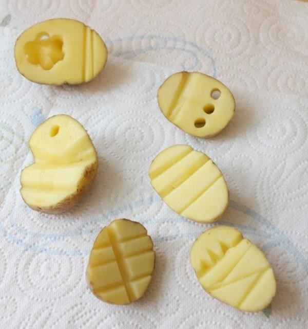 potato stamps