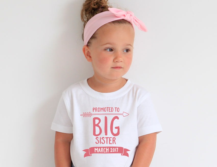 Little Sister Gown Big and Little Sister Shirt Set |Welcome Home Outfit Hello World Birth Announcement Shirt Little Sister Shirt |