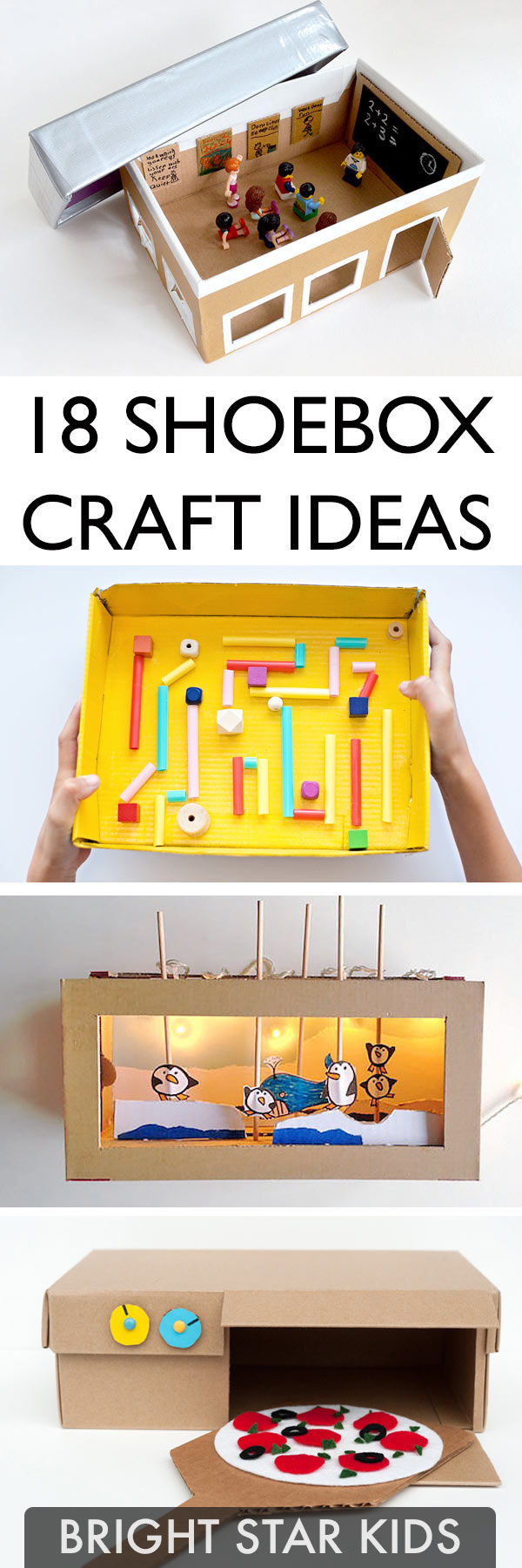 18 Shoebox Craft Ideas Bright Star Kids