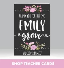 Shop Teacher Cards