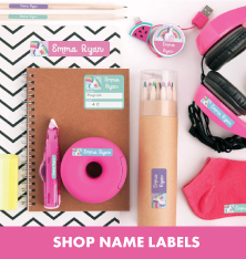 Shop Name Labels.