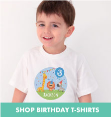Shop Birthday Tshirts.