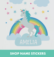 Shop Name Stickers.