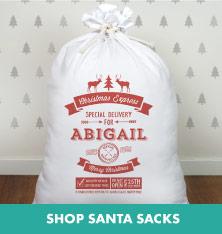 Shop Santa Sacks.