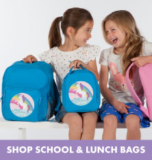 Shop School and Lunch Bags.