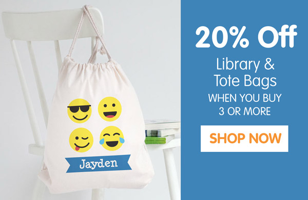 Library Bags Upsell