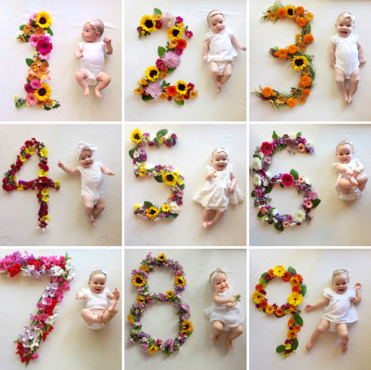 Creative Ways to Capture Your Baby's Milestones