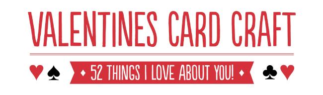 Valentines Card Craft