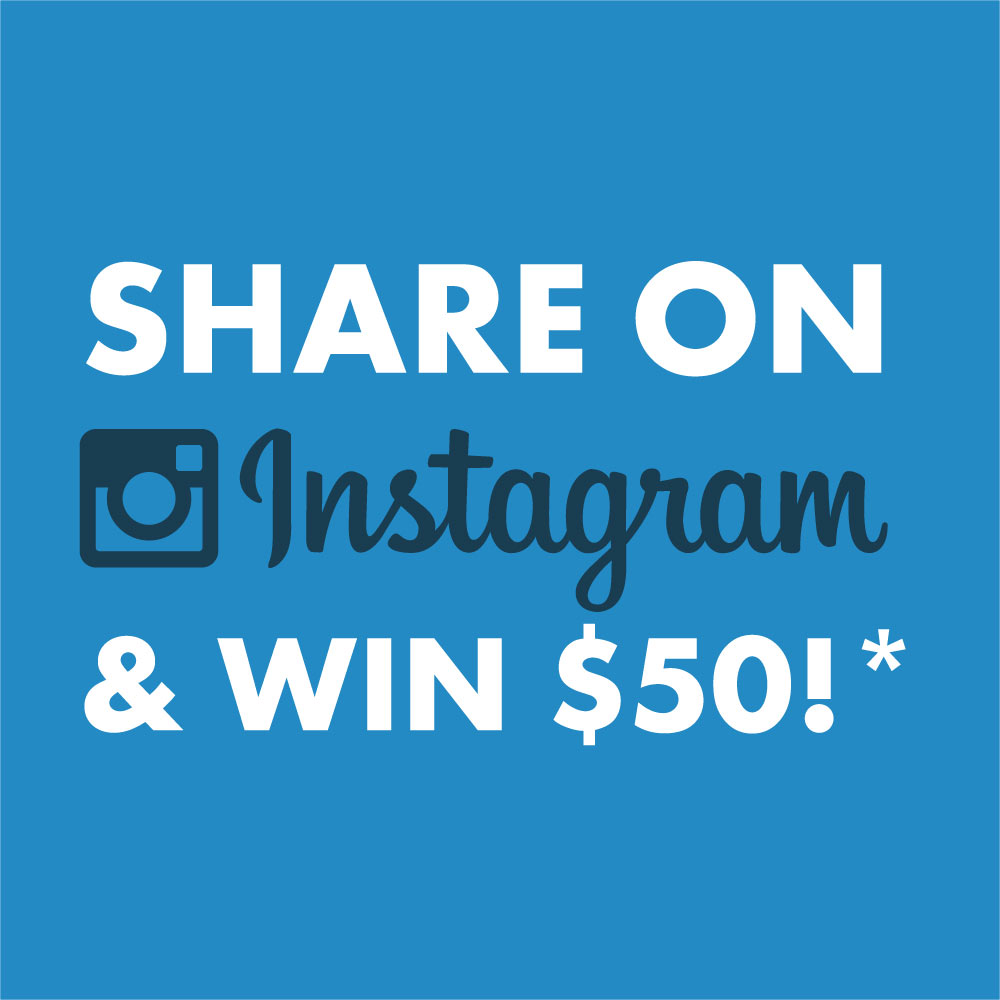 Share on Instagram and Win!