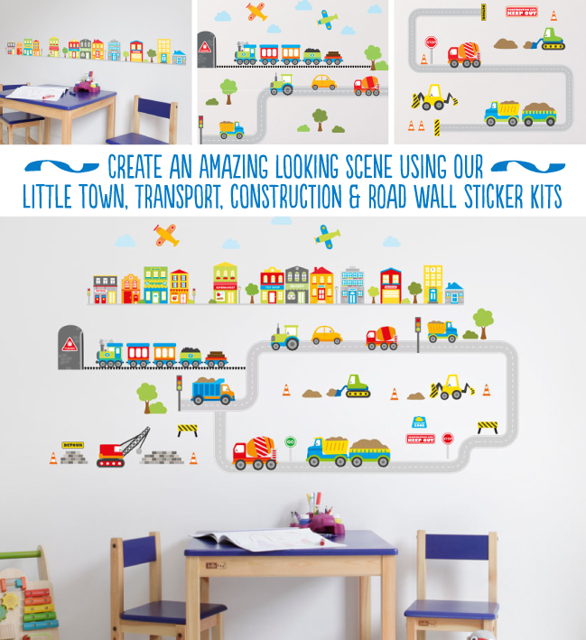 Little Town Wall Stickers
