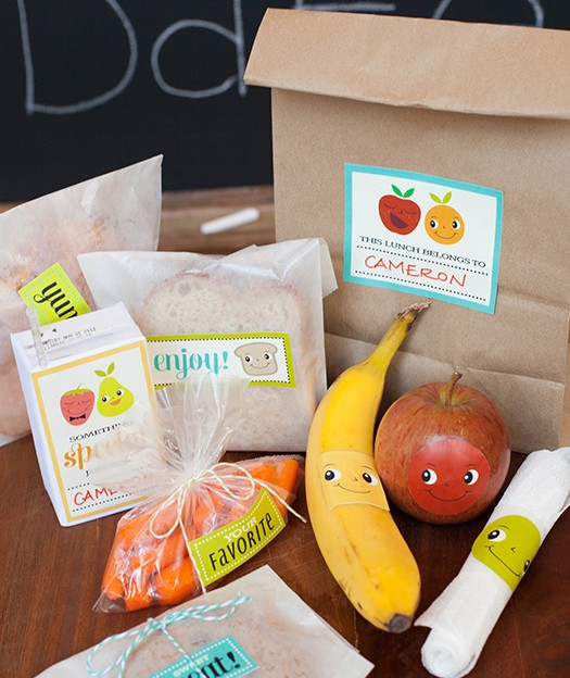 Lunch box printable notes