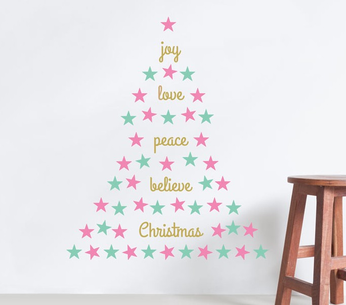 What Does Christmas Mean To You? Use Bright Star Kidu0027s Custom Wall Letters  And Create Your Favourite Christmas Quote Along With Our Range Of Star Wall  ...