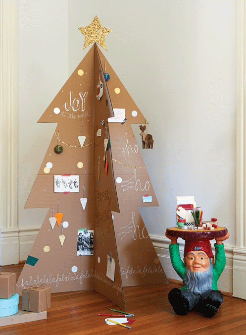 10 Creative & Clever Christmas Tree Ideas