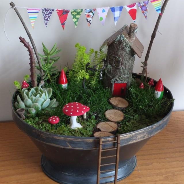 20 diy toilet paper roll craft ideas 6 fabulous fairy gardens 8