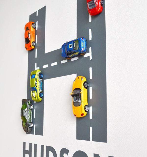 road wall letter tutorial