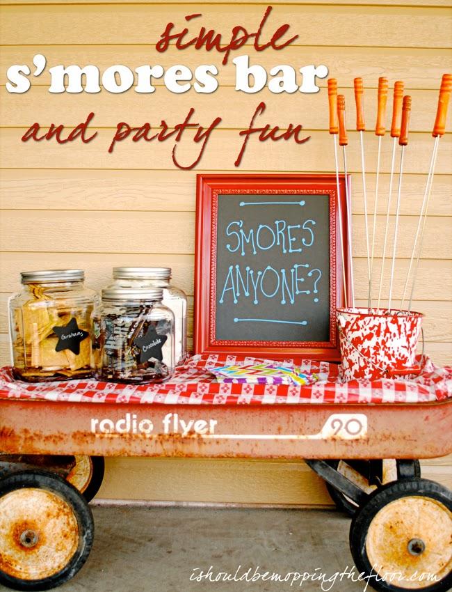 S'mores Bar Ideas and Fun